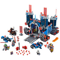 Lepin 2017 Nexus Knights The Fortrex Castle Building Block Clay Aaron Fox Axl Compatible Brick Toy