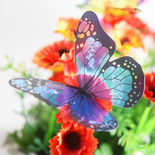 18pcs/lot 3d crystal Butterfly Wall Sticker Art Decal Home decor for Mural Stickers DIY Decal PVC Christmas Wedding Decoration