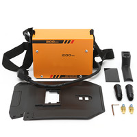 Hot Sale 220V 10 200A Mini Electric Inverter ARC Welding Machine Tool for Welding Working and Electric Working EU Plug