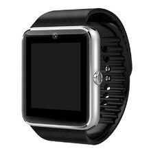 Reloj Inteligente GT08 Smart Uhr Unterstützung Sim-karte Bluetooth Konnektivität Für iPhone Android Telefon Smartwatch