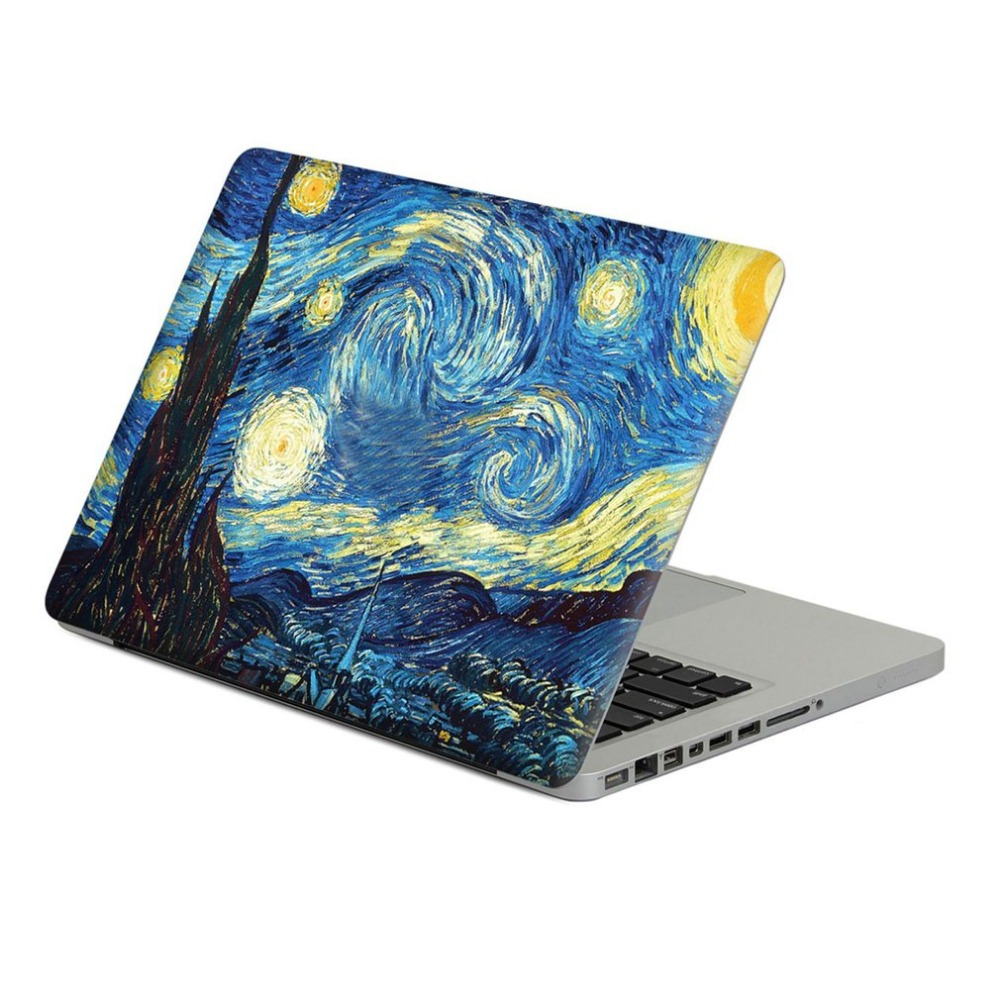 11 inch Unique Waterproof Oilproof Safe PVC Printed Removable Full Body Upper Cover Skin Sticker For Macbook Air ...