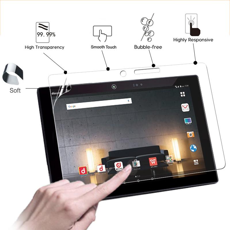 Premium HD Clear Glossy Screen Protector Film For Fujitsu Arrows Tab F-04H 10.5