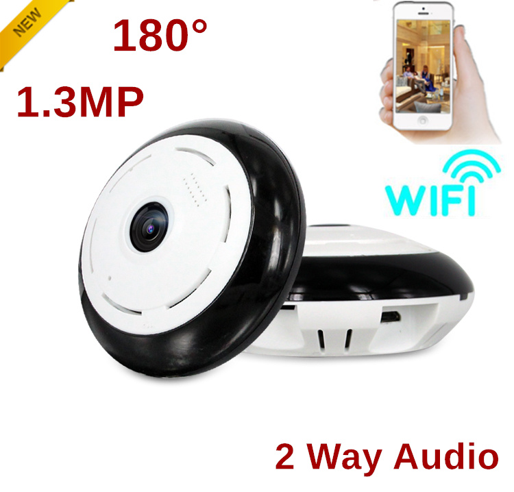 1.3 MP wireless IP camera 960P HD baby monitor cameras video surveillance 360 degree VR wi-fi security camera speaker 4pcs 960p hd cameras