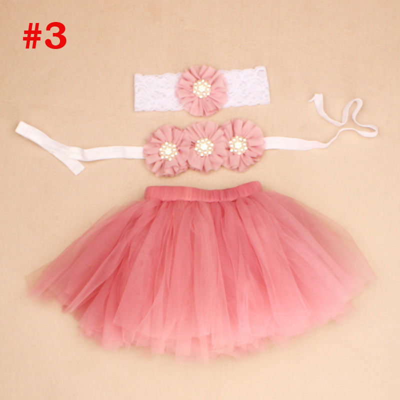 Pink-Baby-Tutu-with-Flower-Bra-Top-and-Lace-Headband-Newborn-Girl-Photo-Props-Costume-Baby-Tulle-Tutus-Baby-Gift-TS070-3