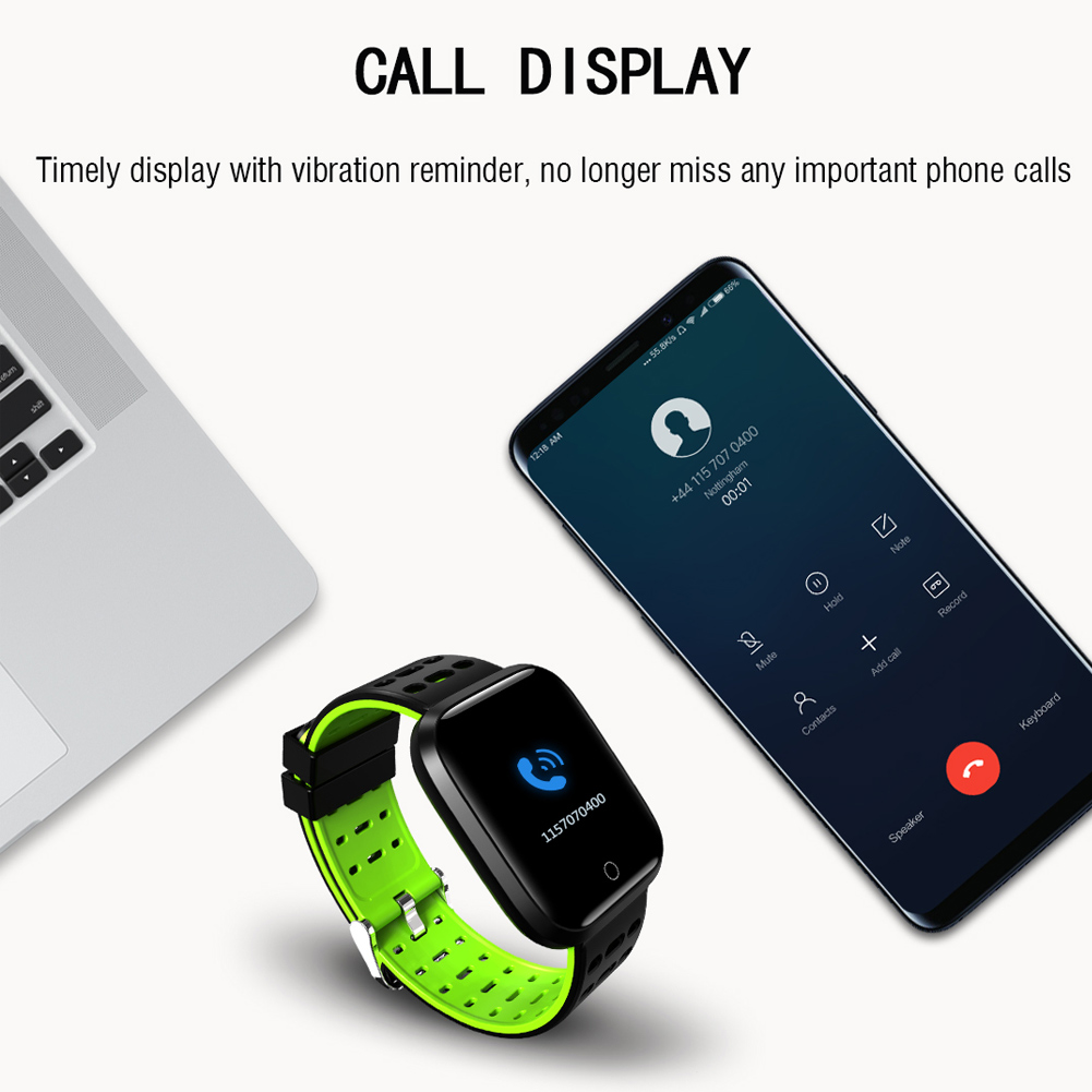 HOT Men Metal Square Smart Watch Sports Outdoor Wristwatch Silicone Band Watches Gifts Drop shipping