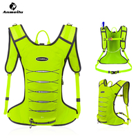 Anmeilu Lightweight 3L Running Hydration Backpack Sport Backpack Trail Running Marathon Bag Cycling Backpack, No Water Bag