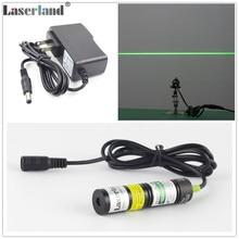 Générateur de Module Laser de ligne verte, marqueur de localisateur pour Machine à découper la pierre, Machine à découper, tampon à Laser pour maison hantée, 1875 532nm 50mW