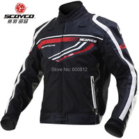 2015 New SCOYCO Motorcycle Jersey Jacket JK37 Leather Racing Suit Jackets Motorbike Clothing DROP Includes Protective