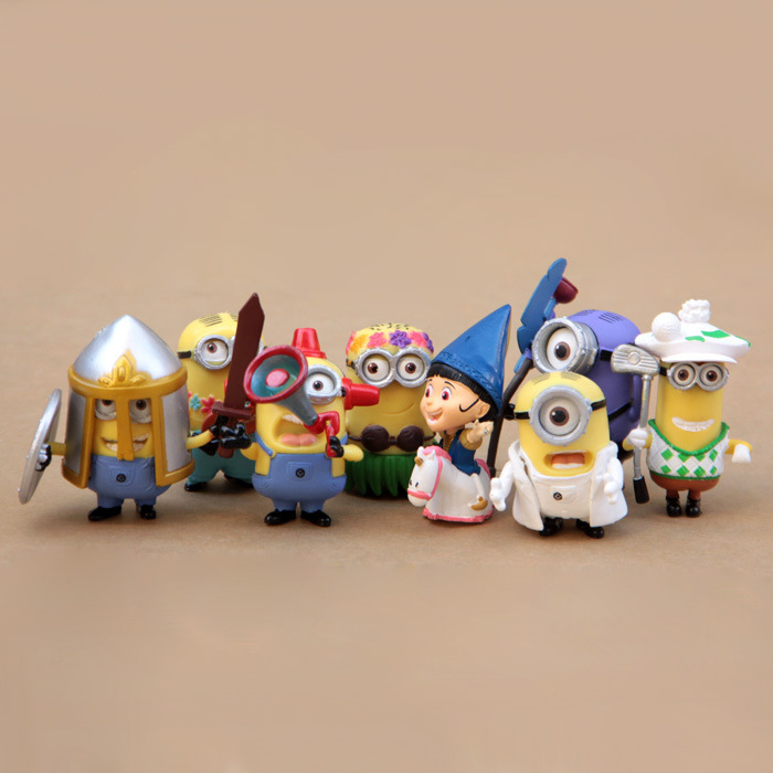 The Movie Minions Action Figures Despicable Me 2 Cute Kevin Bob