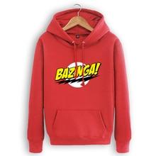"""""""Bazinga"""" Hooded Sweatshirt – 2 Colors"""