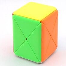 MFJS Cubing Classroom Container Puzzle Twist Shape X  Magic Box Magic Cube Puzzle Toy for Children Magic Speed Box Cube дети 3d cube игра головоломка twist игрушка партия путешествия ребенка creative decompression magic box головоломка подарок