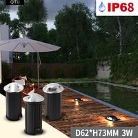 Spot Built-in LED side hole outdoor underground light ladder IP68 waterproof buried floor lightning protection 12V-24V spotlight