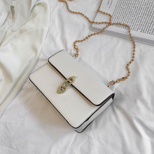 2019 Crossbody Bags For Women Leather Messenger Bag Sac A Main Femme Candy Color Chains Leather Shoulder Bag Female Bolsa New