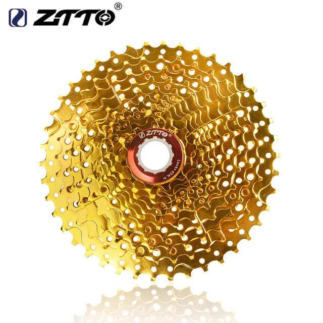 ZTTO 11 Скорость Goud золотого цвета MTB кассета voor Onderdelen XT M8000 SLX M7000 XTR M9000 k7 NX GX усилительный насос