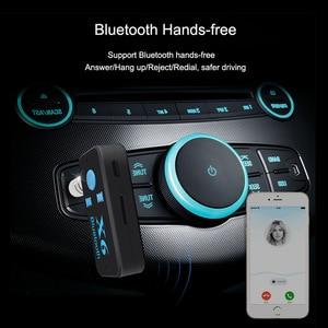 Image 2 - Bluetooth адаптер 3 в 1 беспроводной 4,0 USB Bluetooth приемник 3,5 мм аудиоразъем TF кардридер микрофон Поддержка звонков для автомобильного динамика