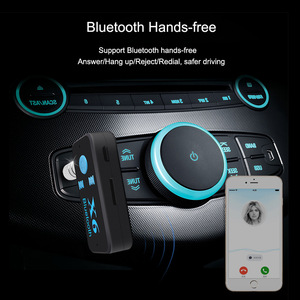 Image 2 - Bluetooth Adapter 3 in 1 Wireless 4.0 USB Bluetooth Receiver 3.5mm Audio Jack TF Card Reader MIC Call Support For Car Speaker