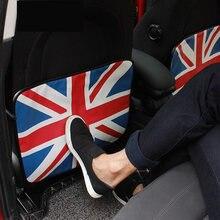 af355e165ae6 Анти-удар pad автомобильное заднее сиденье протектор британский флаг печать  сиденье задняя Сумка для хранения
