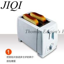 Coastal beach Household stainless steel toaster bread machine toast furnace Baking Bread Machine kitchen