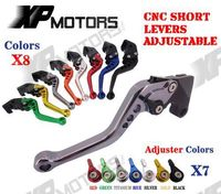 CNC Short Adjusatable Brake Clutch Levers For Buell S1 Lightning 1997 1998