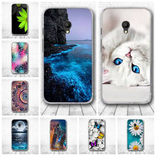 For Coque Alcatel Pixi 4 (5) 5045X 5045D 5.0'' Case Silicone TPU Back Cover For Alcatel Pixi4 (5) 5.0'' 5045 OT-5045 Phone Cases(China)