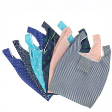 Foldable shopping bag multi-function portable supermarket tote ladies large Oxford cloth handbag