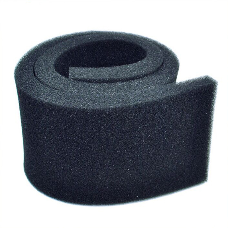1 Piece 3 Sizes Black Filtration Foam Aquarium Fish Tank Biochemical Filter Sponge Pad Light weight And Softness Design FA004 1