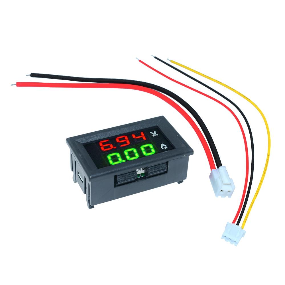 HTB15omsXHj1gK0jSZFOq6A7GpXaV DC 0-100V 10A 50A 100A Electronic Digital Voltmeter Ammeter 0.56'' LED Display Voltage Regulator Volt AMP Current Meter Tester