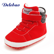 Delebao Brand Of Leveing Deisng Baby Shoes Yellow Flowers Lies Style Baby Girl Shoes Unique Rubber First Walkers
