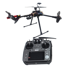 RTF Kit NO Battery Charger HMF Y600 Tricopter Copter Hexacopter APM2.8 GPS Drone with Motor ESC AT10 TX&RX F10811-F