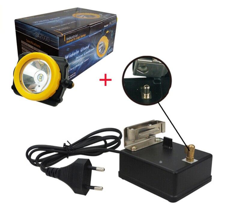 KL-6 3 watt 5200 mah LED KOHLE bergbau licht, CE zertifizierung LED LED scheinwerfer CREE cordless bergbau licht
