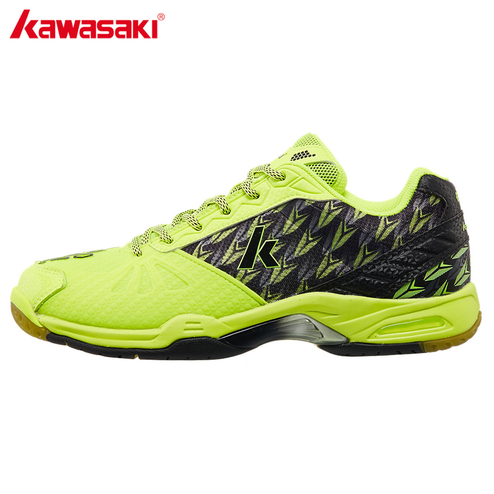 Kawasaki Professional Badminton Shoes for Men Women Brand Indoor Court Sports Sneakers Anti torsion Anti Slippery
