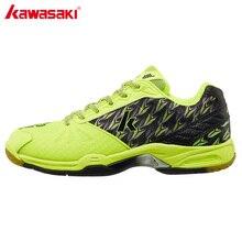 лучшая цена Kawasaki Professional Badminton Shoes for Men Women Brand Indoor Court Sports Sneakers Anti-torsion Anti-Slippery Comfort K-519