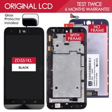 Original 5.5 inch 1920×1080 Display for ASUS Zenfone Selfie ZE551KL ZD551KL LCD Touch Screen With Frame Digitizer Replacement
