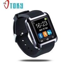 Excellente qualité bluetooth smart watch double montre-bracelet smartwatch pour pour iphone & android téléphone podomètre en bonne santé smartwatch