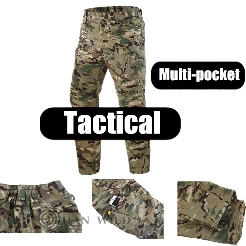 Summer Tactical Cargo Pants Men Special Forces Black Sweatpants Military Combat Pants Hombre Work Trousers Army Airsoft Joggers