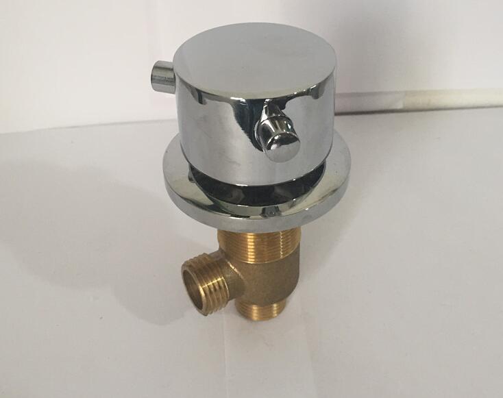 Heiße und Kalte Messing schalter ventil für Badewanne wasserhahn dusche mischer Bad wasserhahn regelventil Split fünf-loch zylinder seite wasserhahn
