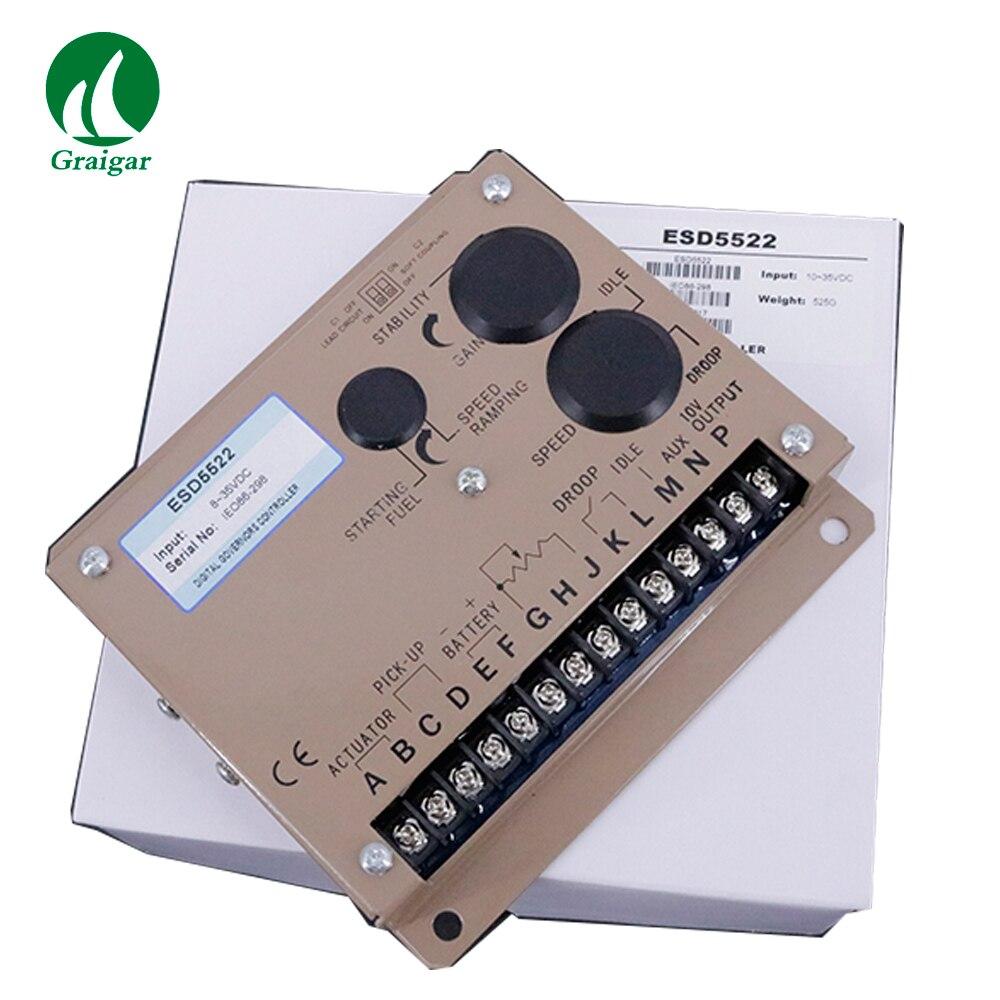 Diesel Generator Electronic Speed Control ESD5522 95% Relative HumidityDiesel Generator Electronic Speed Control ESD5522 95% Relative Humidity