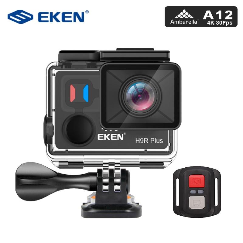 EKEN H9R Plus Action Kamera Ultra HD 4 karat A12 4 karat/30fps 1080 p/60fps für Panasonic 34112 14MP gehen wasserdichte wifi sport Cam pro