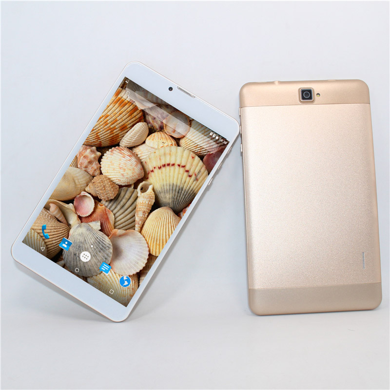 7 Inch DUAL SIM Card 3G Phone Call  Tablets Android 6.0  600x1240 GPS WIFI Mobile Phone 8GB ROM Quad Core MTK7731