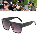 Luxury Brand Designer Kim Kardashian Fat Top Sunglasses Women Retro Shades Sun Glasses for Men Gafas Oculos De Sol Feminino M092