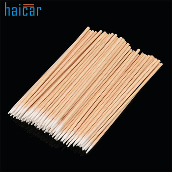 Brand New 100Pcs 7.5cm / 10cm High Quality Microblading Micro Brushes Swab Lint Free Tattoo Permanent Supplies Tattoo accesories