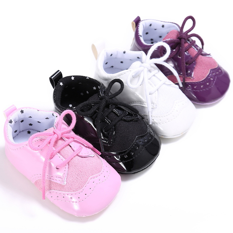 Antiskid Baby First Step Shoes Fashion Baby Leisure Shoes Indoor Toddler Shoes Sale