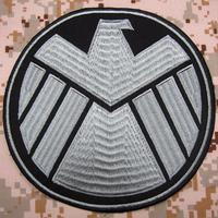 The Avengers S H I E L D Big Back Of The Body Embroidered Patch Military