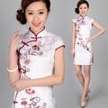 Hot Sale Traditional Chinese Clothing 2016 Qipao Sexy Short Mini Cheongsam  Female Evening Wear