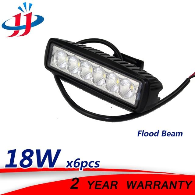 6x18 watt LED ARBEIT LICHT BAR Boot beleuchtung Marine boot yacht ...