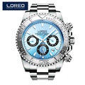 LOREO Germany watches men automatic self-wind diver 200M oyster perpetual cosmograph daytona relogio masculino 116506