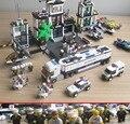 6725/6726/6727/6728 Estación de Policía Kits de Edificio Modelo Bloques de Construcción Ladrillos Compatible con La Ciudad de Juguetes de Los Niños