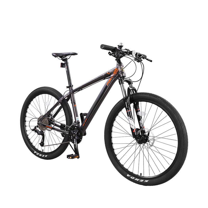 Mountain Bike Variable Speed Adult Off-Road Dual Shock Absorption Aluminum Alloy Ultra Light Oil Disc Brake.