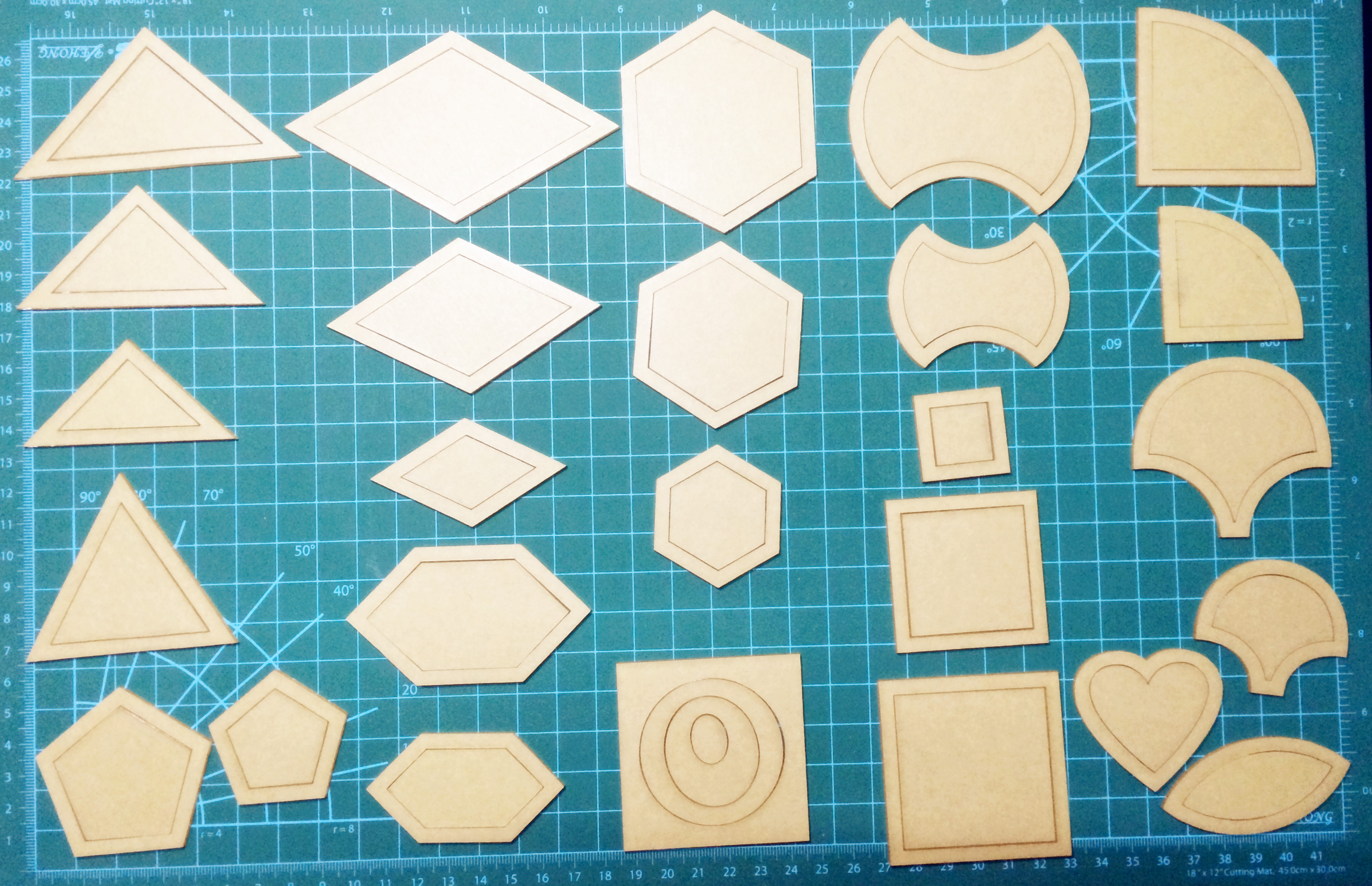 Reusable Quilt Templates Plastic Tool for Patchwork Quilter 27 models useful