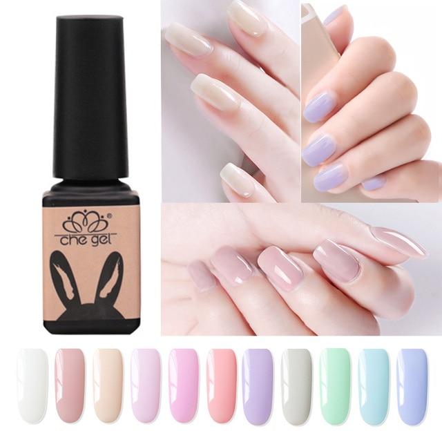 Aliexpress.com : Buy CHE GEL Cute Candy Color Brand Nail Gel Polish ...